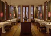 Indoor Hotel Restaurant Hall Amanyara