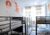 bunk beds room hostel athenstyle greece