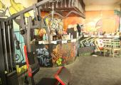 small gym bangkok hostel the overstay