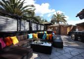 lounge bar in 5 stars luxury hotel