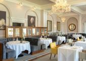 stylish elegant restaurant lake district hotel