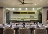kithen and dining area bali villa bendega rato
