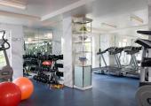 luxury hotel beverly hills fitness gym