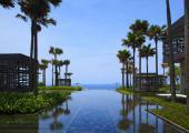 big infinity pool exotic journey luxury suite bali