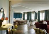 Soho House Berlin stylish interior