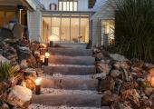 luxury suite entrance romantic
