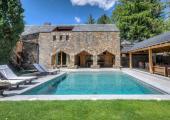 swimming pool luxury catalonia hotel pyrenees
