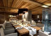 luxury dining area ski holiday austrin alps