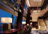 awesome night bar view chengdu china