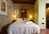 byzantine style hotel building stone walls