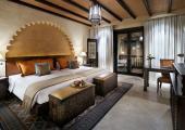romantic suite exotic resort in desert