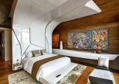 designers work in luxury villa Phuket bedroom