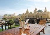 monte carlo casino view from luxury hotel