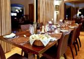 luxury dining area chalet for rental france