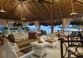 beach lounge exotic bar at punta cana