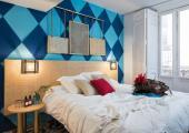 nice modern design double room hostel in valencia