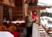 Enjoy the Breathtaking View over Dolomites from Hotel's Terrace