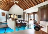 luxury wooden furniture villa w retreat