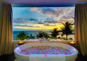 spa center sea view gorgeous villa rental