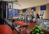 the lodge luxury hotel fitness gym