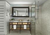 stylish design st barts villa bathroom