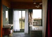 ensuite bathroom with hot tub luxury hotel