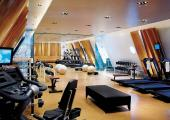 modern spacious fitness centre at hotel four seasons budapest