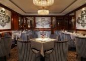 dark designed hotel imperial restaurant opus