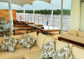 Ship indoor lounge bar