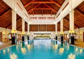 indoor big hotel indoor pool