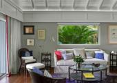 cozy nice interior st barts luxury villa rental
