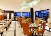 indoor hall hotel JW Marriott restaurant grill