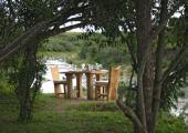 Safari Kenya Naibor camp by the river
