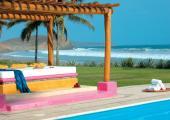 beach pergola resort mexico holidays