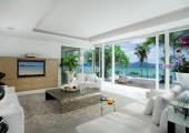 living room luxury rental phuket