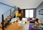 duplex luxury livingroom boutique hotel
