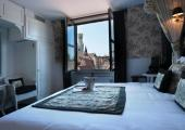 hotel room view church of our lady bruges