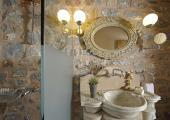 rustic style artistic bathroom sink
