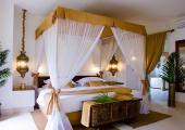 luxury bedroom at baraza resort villa