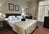 beautiful nice boutique hotel interior room in Barcelona