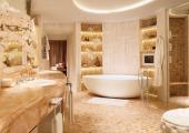 ultime luxury penthouse bahtroom hotel corinthia