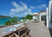 exotic villa sea view st barts