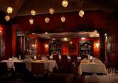 Asian restaurant luxury hotel