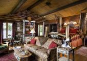 unique designed lakefron cabin luxury accommodation