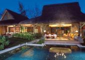 private pool bungalows mauritius