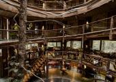 hotel nothofagus wooden interior