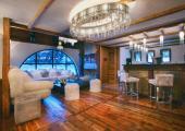 living room luxury ski rental