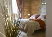 bedroom suite french alps chalet luxury boutique