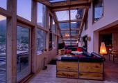 rustic interior luxury chalet