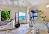 spacious design bathroom luxury villa